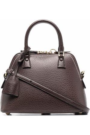 Maison Margiela Structured leather tote