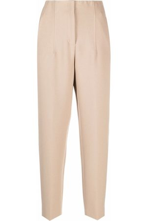 PESERICO SIGN High-rise straight leg trousers