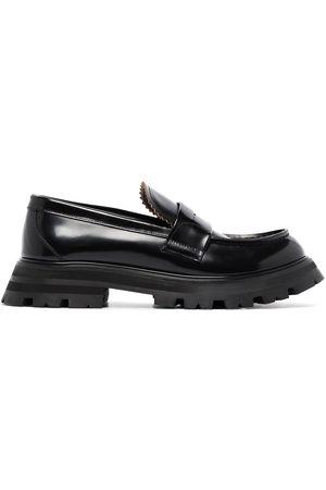 Alexander McQueen Wander leather loafers