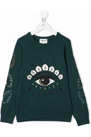 Kenzo Embroidered-eye sweater
