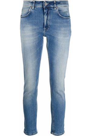 Dondup Women Jeans - Low-rise cropped jeans