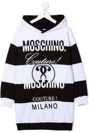 Moschino Logo-print hooded dress