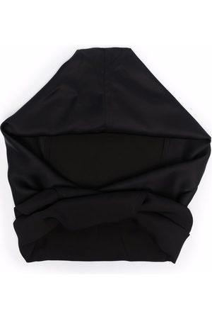 Jil Sander Men Neckties - Tie front hooded scarf