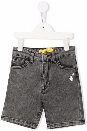 Off-White Kids Boys Shorts - MEDIUM DENIM SHORT