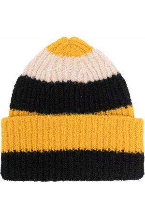 La DoubleJ Women Beanies - Stripe-pattern knitted beanie