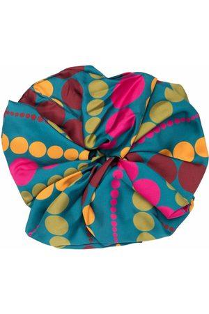 La DoubleJ Women Hair Accessories - Giga abstract-print scrunchie