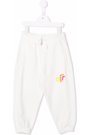Off-White Kids Girls Trousers - OFF ROUNDED SWEATPANT MULTICOLOR