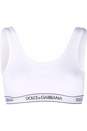 Dolce & Gabbana Logo-band sports bra