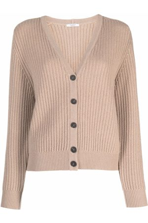 PESERICO SIGN Women Cardigans - Button-down knit cardigan