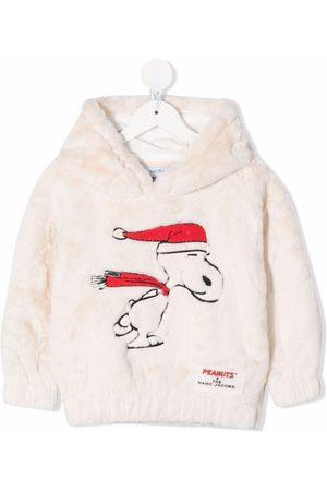 The Marc Jacobs Girls Hoodies - Snoopy faux-fur hoodie