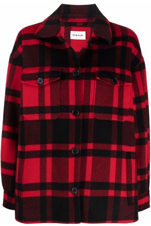 P.a.r.o.s.h. Check-print shirt jacket