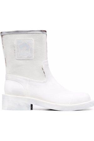 MM6 MAISON MARGIELA Paint-effect ankle boots
