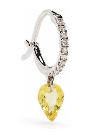 Raphaele Canot 18kt white gold Set Free diamond sapphire earrings