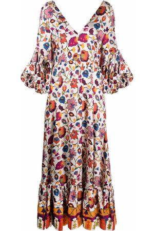 La DoubleJ Women Printed Dresses - Bella printed long dress