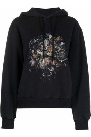 HAN Kjøbenhavn Women Hoodies - Graphic-print organic cotton hoodie