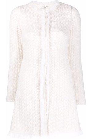 CHARLOTT Raw-edge knitted jumper