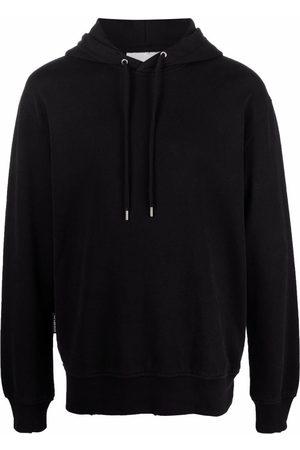HAN Kjøbenhavn Distressed long-sleeved hoodie