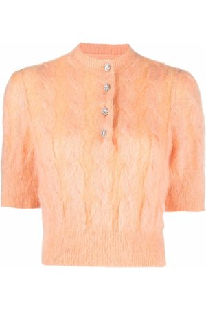 Paco rabanne Women Tops - Soft cable knit top