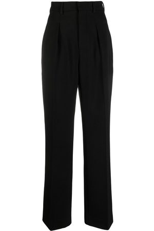 Ami Tailored high-waisted trousers