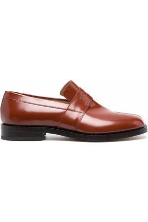 Maison Margiela Tabu-toe leather loafers
