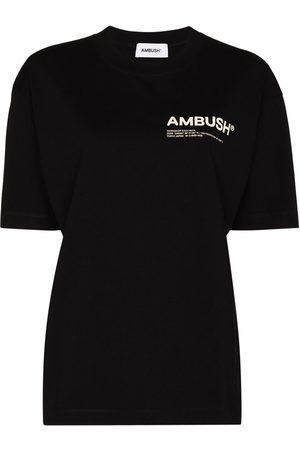 AMBUSH JERSEY WORKSHOP TEE CRWNK SHRT SL