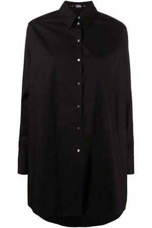 Karl Lagerfeld Embellished-Karl shirt