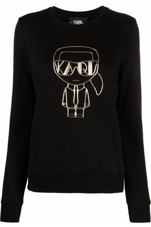 Karl Lagerfeld Ikonic logo-print sweatshirt