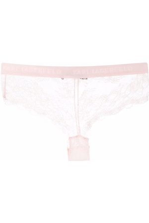 Karl Lagerfeld Lace hipster briefs