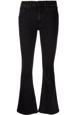Dondup Women Bootcut & Flares - Mid-rise flared-leg jeans