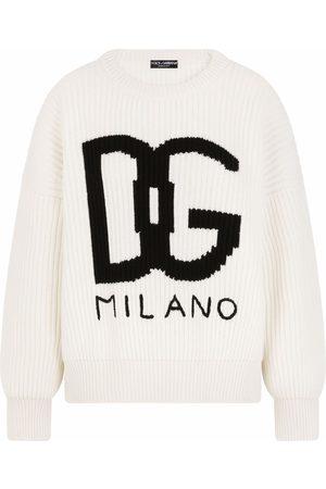 Dolce & Gabbana Chunky-knit cashmere jumper