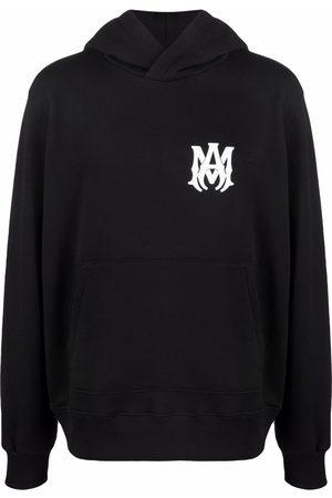 AMIRI Logo-print cotton hoodie
