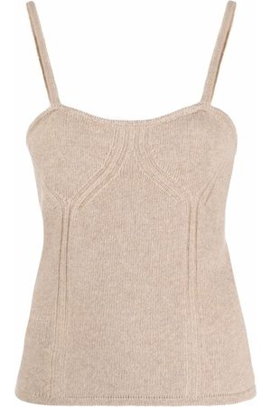FEDERICA TOSI Ribbed knitted vest