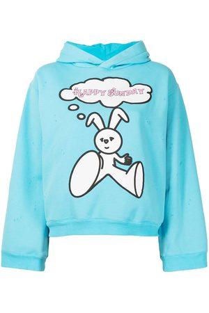 Natasha Zinko Slogan print hoodie