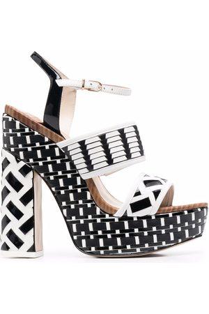 SOPHIA WEBSTER Celia 140mm platform sandals