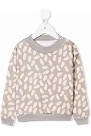 Studio Clay Bean-print crew neck sweatshirt
