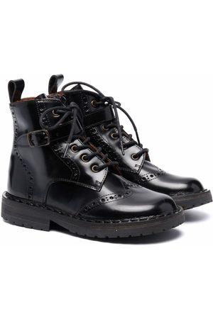 PèPè Brogue-detail ankle boots