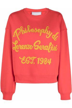 Serafini Embroidered logo sweatshirt