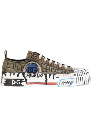 Dolce & Gabbana Portofino Light graffiti-print trainers