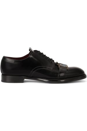 Dolce & Gabbana Logo-plaque Derby shoes