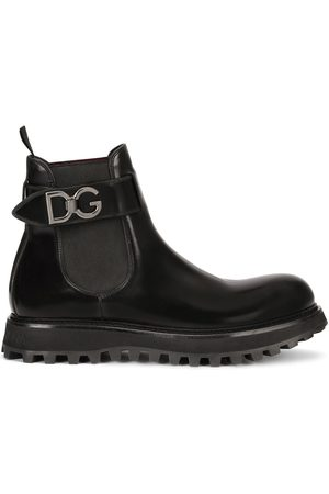 Dolce & Gabbana Chelsea belted boots