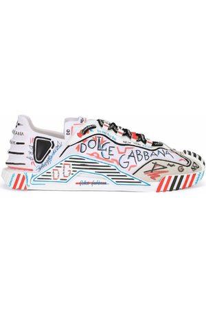 Dolce & Gabbana Graffiti logo print sneakers