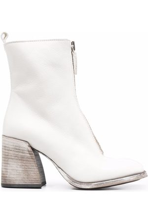 Moma Front-zip ankle boots