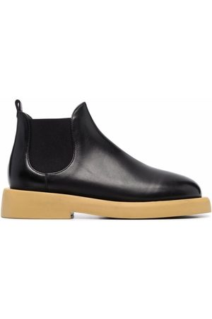 MARSÈLL Gommello leather ankle boots