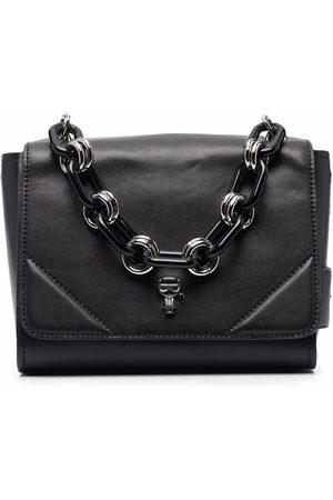 Karl Lagerfeld K/Ikonik pin-chain bag