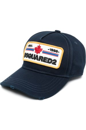 Dsquared2 Distressed-effect logo-patch baseball cap