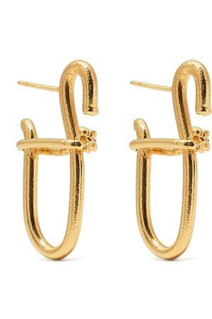 Alighieri Sculptural-design butterfly-clasp earrings