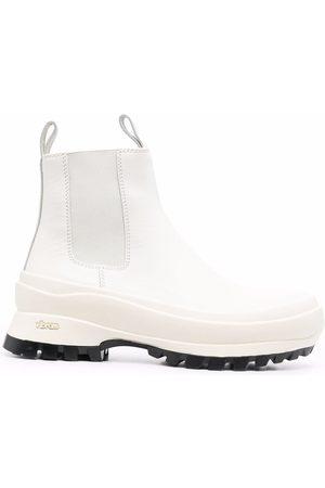 Jil Sander Ridged-sole ankle boots