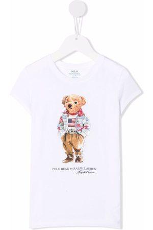 Ralph Lauren Polo Bear print T-shirt