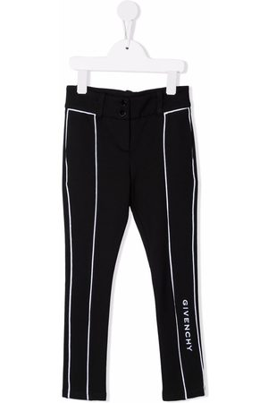 Givenchy Logo-embroidered tailored trousers
