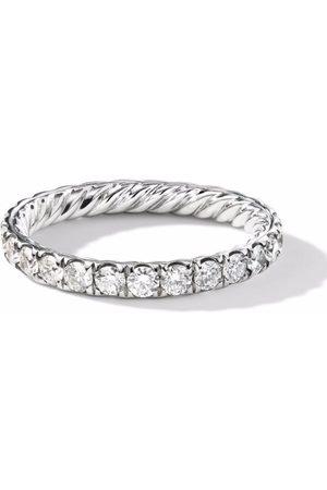 David Yurman Eden single row diamond ring
